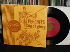 "The Peechees ""Cup Of Glory"" Kill Rock Stars Records 1994 EP, deluxe folder sleeve (punk vinyl record)"