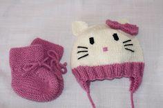 Puslespillbrikker: Hello Kitty-lue og sokker