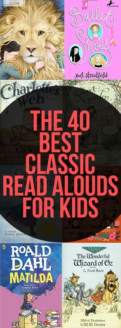 The 40 Best Classic Read Alouds for Kids is part of children Books Classic - I really value a lot of the classics We definitely don't just read classics (which you'll realize right away when you look at our book lists), but there Classic Literature, Children's Literature, Classic Books, Literature Circles, Kids Reading, Teaching Reading, Teaching Kids, Reading Lists, Creative Teaching