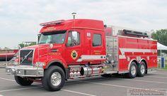 ◆2015 Volvo Fire Department Tanker◆