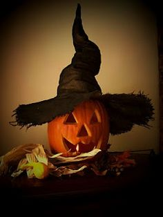 *Making a Crooked Witch Hat