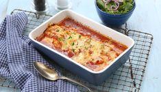 Ovnsbakt lange i tomatsaus med hvitløk og olivenolje gir en smak av middelhavet. Denne retten er enkel å lage og smaker nydelig. Frisk, Lasagna, Macaroni And Cheese, Food And Drink, Ethnic Recipes, Mac And Cheese, Lasagne