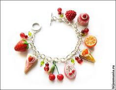 Children's bracelet with fruit by allim-lip.deviantart.com on @deviantART