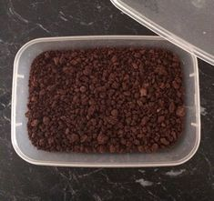 Chocolate Dirt. : 4 Steps (with Pictures) - Instructables Chocolate Soil, Chocolate Ice Cream, Dinner Party Recipes, Pastry Brushes, Buttercream Frosting, Tray Bakes, Tasty, Cakes, Baking