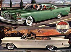 1956 Chrysler 300 C 2-Door Hardtop and Convertible