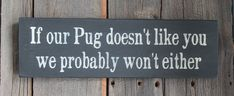 Dog Wall Decor Funny Dog Sign Dog Wood Sign by PreciousMiracles