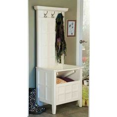 Beau Mini Hall Tree Storage Bench