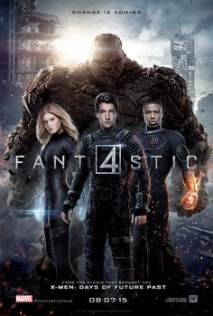 The fantastic four 2015 marvel movies. Because the fantastic four movies weren't that good, and they. Before the fantastic four ushered in the 'marvel age of comics', monster he. Marvel Comics, Films Marvel, Marvel Dc, Poster Marvel, Marvel Movie Posters, War Comics, Marvel Cinematic, Captain Marvel, Captain America