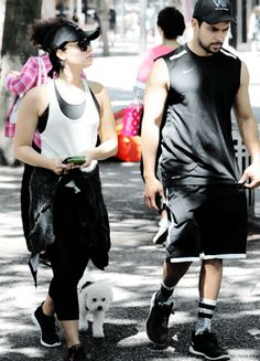 Demi Lovato and Wilmer Valderrama out in Vancouver, Canada on July 18th.