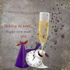 Happy New Year for my O family! Happy New Year, Digital Scrapbooking, Glass, Drinkware, Corning Glass, Happy New Year Wishes, Yuri, Tumbler, Mirrors
