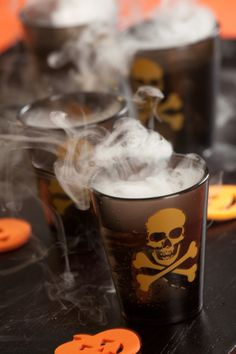 Witches Brew Punch with Dry Ice #recipe
