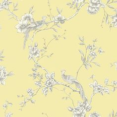 Chinoise Yellow wallpaper by Arthouse  Saved by Susan $29 per roll  Saved from Wallpaper Direct