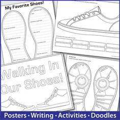 All About Me Shoe Design Activity by The Imagination Box | Teachers Pay Teachers
