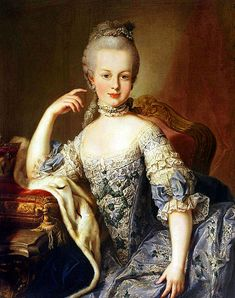 Marie Antoinette was considered somewhat of a tomboy. She played with non-royal children and loved horseback riding and hunting. After she was married, her mother wrote her several letters reminding her to wear clean clothes and to groom her hair.