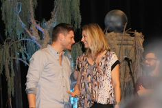Alexandra ‏@dragonlit ~ One of Jensen and Samantha that I liked. #VegasCon