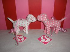 PINK Dog Collectable Ornaments