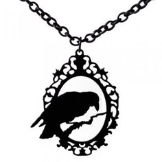 I love ravens. I am beginning to think that I can never have enough bird themed jewelry.