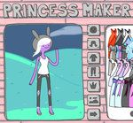Adventure Time Princess Maker by ~spacecoma on deviantART