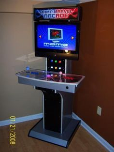 1000+ images about Arcade Cabinet Ideas on Pinterest | Retro arcade ...
