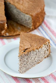Poppy Seed Cake recipe from Joy of Kosher