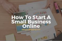How To Start A Small Business Online 1 Making Money On Youtube, Youtube Money, Online Business From Home, Landing Page Builder, Dr Ben, Successful Online Businesses, Online Entrepreneur, Starting A Business, Business Marketing