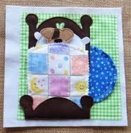 quiet book - would be fun to make the Three Little Bears and other stories the kiddos know and could play out