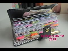 Planner Setup December 2017 - Getting Ready for 2018 // Pink Planner Girl - YouTube