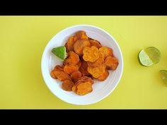 Simpel, lekker, gezond en koolhydraat-arm! Deze zoete aardappel chips zijn het helemaal! - Zelfmaak ideetjes