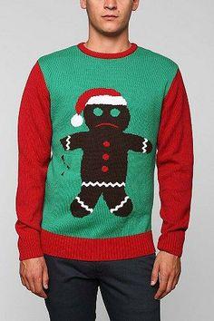 Gingerbread Man Sweater $59.00 - Buy it here: https://www.lookmazing.com/gingerbread-man-sweater/products/5771332?shrid=46_pin