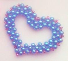 Korálky-DIY: Srdce :: Zdobenicko Horn, Pearl Necklace, Pearls, Bracelets, Jewelry, Charm Bracelets, Horns, String Of Pearls, Bijoux