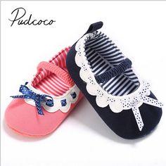 f33ec99f75f72 2018 Marca Nuevo Niño Infantil Del Bebé Recién Nacido Niño Niña Suela  Blanda Zapatos del Pesebre antideslizante Lace Patchwork Zapatos de Primera  caminante ...