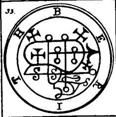 Berith - Goetia - Classics of Magick - Norton's Imperium - Hermetic Library Magick, Witchcraft, Angelic Symbols, Magic Squares, Occult Symbols, Hebrew Words, Angels And Demons, Evil Spirits, Gothic Art