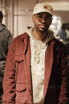 Big Sean wearing Carhartt Odessa Cap, John Elliott Kake Mock Pullover