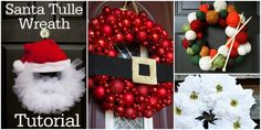 Christmas Wreath Ideas and Projects to Adore Your Home