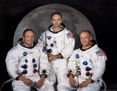 Today in #history: 46 years ago, #NeilArmstrong and #BuzzAldrin were the first #astronauts to land on the #moon!