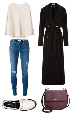 """""""#20"""" by annedance1711 ❤ liked on Polyvore featuring Frame Denim, MANGO, Temperley London, Nine West and Kate Spade"""