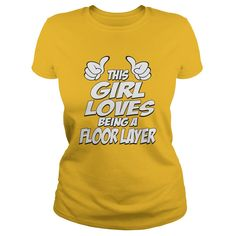 Being A Floor Layer T-Shirts, Hoodies. Get It Now ==► https://www.sunfrog.com/Jobs/Being-A-Floor-Layer-Shirt-Yellow-Ladies.html?id=41382