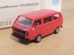 VW T3 Bus * LAST EDITION AutoMuseum Nr.4  * Wiking OVP 1:87
