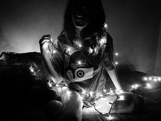 string light photography