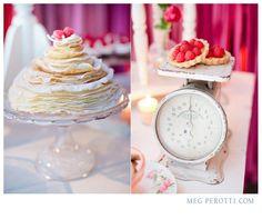 Love the layered crepe cake