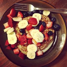 Healthy and delicious whole food/clean eating breakfast recipes.