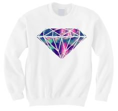 Galaxy Diamond Crew Neck Sweater