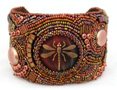 Beverly Choy  Burnt Honey Cuff