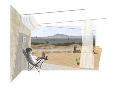 Temporary Housing for Surfers in Tarifa, Xavier Isart + Alfonso Bertrán - BETA