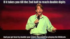 Jeff Foxworthy's take on playing the Kentucky Wildcats!! Love it! ❤️