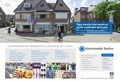 Baltus ijzerhandel Bussum. webdesign door Reclamebureau Holland./ Jochem Albrecht