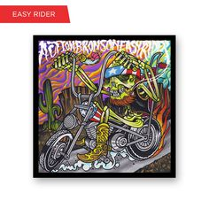 Check out Easy Rider Screen Print Poster from Action Bronson at the Warner Music Store!