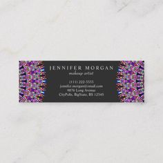 Get customizable Bohemian Boho Chic business cards or make your own from scratch! ✅ Premium cards printed on a variety of high quality paper types. Art Business Cards, Beauty Business Cards, Elegant Business Cards, Business Card Design, Print Templates, Card Templates, Print Design, Graphic Design, Mandala