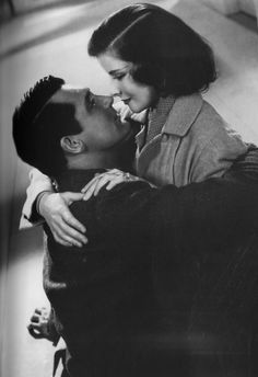 Cary Grant and Katharine Hepburn, c. 1930s.