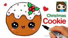 How to Draw a Cookie for Christmas Easy